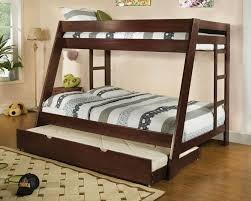 bunk bed twin over full is smart idea modern storage twin bed design