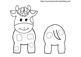 Coloriage Vache Les Beaux Dessins De à Imprimer Et Colorier Page 3