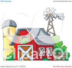 Clipart Red Barn With An Open Hay Loft A Silo And Windmill ... Red Barn Clip Art At Clipart Library Vector Clip Art Online Farm Hawaii Dermatology Clipart Best Chinacps Top 75 Free Image 227501 Illustration By Visekart Avenue Of A Wooden With Hay Bnp Design Studio 1696 Fall Festival Apple Digital Tractor Library Simple Doors Cartoon For You Royalty Cliparts Vectors