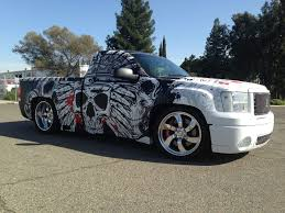100 Skull Truck Rims Skull Vehicle Wraps Would Probably Never Do This To My Own Truck