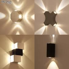 shop modern wall l up aluminum octagon led wall