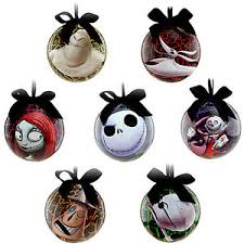 Nightmare Before Christmas Tree Toppers Bauble Set by Awesome Picture Of Nightmare Before Christmas Tree Ornaments