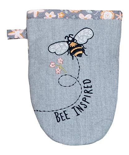 For A Well Dressed Kitchen Grabber Mitt, Bee Inspired