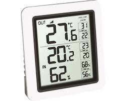 funk thermometer innen außen digital kabellos ohne batterie