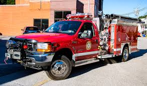 SOLD 2001 Ford 4WD E-One 1000 / 280 Mini-Pumper - Command Fire Apparatus