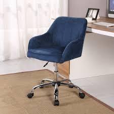 belleze modern office chair task desk adjustable swivel height