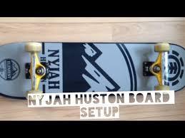 nyjah huston skateboard setup 2016 youtube