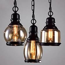 e27 hängeleuchte vintage pendelleuchte höhenverstellbar retro pendelle industrial hängele glas kronleuchter la cakus deckenleuchte für