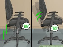 Extended Height Office Chair by 3 Ways To Adjust Office Chair Height Wikihow