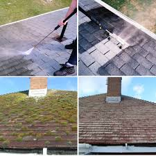 accredited roof cleaning services we power jet wash roofs and