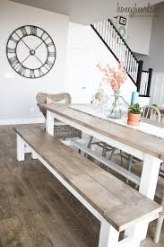 Farmhouse Dining Room Table Pallet With Bench And Chairs Outdoor