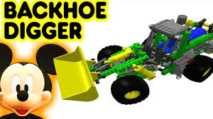 Kids Toys Lego Backhoe Digger And Mickey Mouse Superhero ... Monster Truck Videos Grave Digger Images The Truck Bulldozer Transportation Learn In Cars Cartoon For 100 Trucks Patrol S Paw Meets The A Funny Toy Parody Little Builder Backhoe Excavator Crane Diggers Youtube Halloween Sago Mini And Roller Everybodys Scalin For Weekend Trigger King Rc Mud