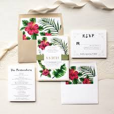 Tropical Wedding Invitations Inspirational How soon to Send Out