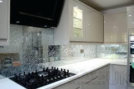 Glass Splash Backs Clear Crackle Splashbacks Hamilton Nz