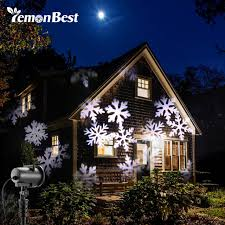 20 Pattern 12W Mery Christmas Lights Outdoor LED Snowflake