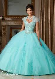 quinceañera ballgown featuring a sweetheart neckline and corset