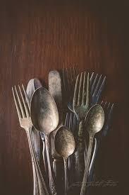 Fine Art Print Silverware Restaurant Decor Spoons
