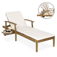 Best Choice Products 79x30-inch Acacia Wood Chaise Lounge Chair Recliner,  Outdoor Furniture For Patio, Poolside W/Slide-Out Side Table, Foam-Padded  ... Safavieh Inglewood Brown 1piece All Weather Teak Outdoor Chaise Lounge Chair With Yellow Cushion Keter Pacific 1pack Allweather Adjustable Patio Fort Wayne Finds Details About Wooden Outindoor Lawn Foldable Portable Fniture Pat7015a Loungers By Best Choice Products 79x30inch Acacia Wood Recliner For Poolside Wslideout Side Table Foampadded Cambridge Nova White Frame Sling In Navy Blue Diy Chairs Ana Brentwood Mid20th Century British Colonial Fong Brothers Co 6733 Wave Koro Lakeport Cushions Onlyset Of 2beige