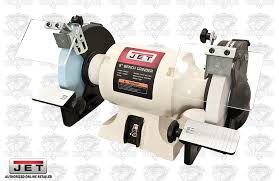 JET 726100 8 Woodworking Bench Grinder 2 Norton Wheels