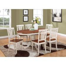 Wayfair White Dining Room Sets by 7 Piece Round Kitchen U0026 Dining Room Sets You U0027ll Love Wayfair