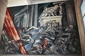 Jose Clemente Orozco Murales Hospicio Cabaas by 7 Murales Imprescindibles De José Clemente Orozco