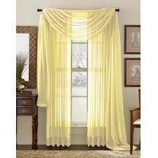 Sheer Curtain Panels Walmart by Better Homes And Gardens Shimmer Sheer Curtain Panel Walmart Com