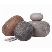 pouf galet pas cher les coussins galets rock cushions en mér achat vente