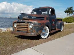 1950 Ford F-1 Rat Rod PickUp Custom Retro Hot Rods D Wallpaper ...