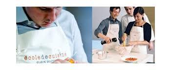 ecole ducasse cours cuisine week end cours de cuisine à chez alain ducasse