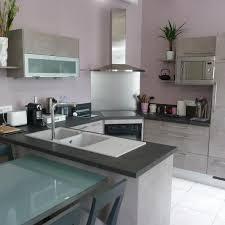 hotte de cuisine en angle hotte de cuisine d angle cuisine contemporaine moyen et violet