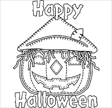 Printable Coloring Pages Halloween For Kids