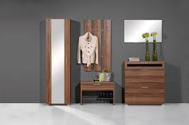 Image Of Modern Entryway Bench With Coat Rack