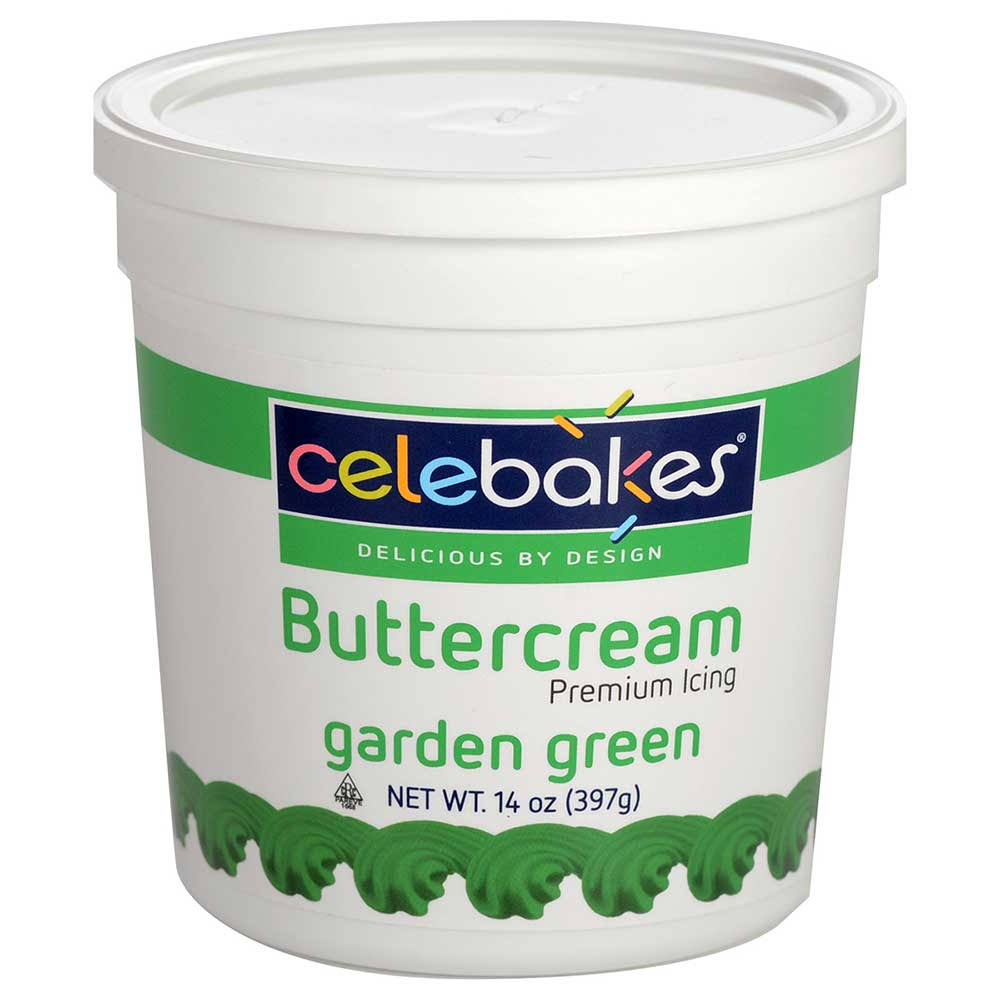 Celebakes by CK Products Garden Green Buttercream Icing 15 Ounce