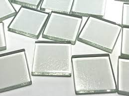 clear glass mosaic tiles tiles for craft the mosaic store
