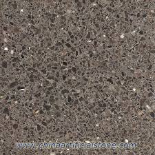 Brown Terrazzo Tiles With Dark Emperador Marble Chips EP121