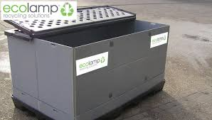 used pallet box l recycling compact halogen ls eco