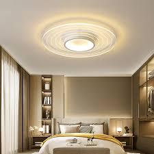 led deckenleuchte modern rundes design aus acryl für esszimmer