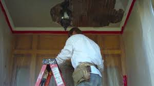 Skip Trowel Plaster Ceiling by Remove And Repair An Exterior Porch Ceiling For The Diy Person