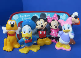 Mickey Mouse Bathroom Images by Disney Mickey Mouse U0026 Friends Clubhouse Rubber Bath Toys Minnie
