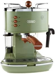 Delonghi Vintage Icona Coffee Maker Green Tradional Pump Espresso Machine