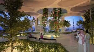100 Hanging Garden Hotel Santiago Calatravas Dubai Observation Tower Resembles The