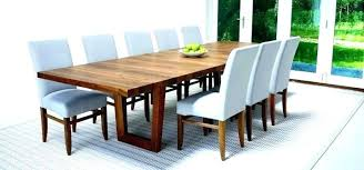 Modern Solid Wood Dining Table Black Tables Chairs Set For 4 Mid Century