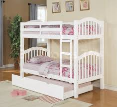 Twin Over Twin Bunk Beds With Trundle by Heartland Twin Over Twin Bunk Bed With Trundle White Loft Bunk