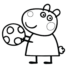 Printable Pig Coloring Pages Peppa Colouring Sheets Pdf Pictures Print Online Free Full Size