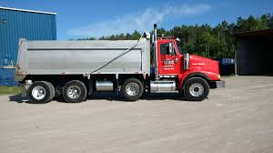International Triaxle Dump Truck For Hire, Barrie, Ontario