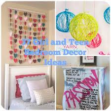 Bedroom Diy Decor 37 Ideas For Teenage Girl39s Room Projects Photos