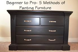 Marvelous Paint Furniture Beautiful Design Different Methods For Painting
