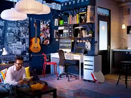 Dark Blue Decor Music Room Work Space | Interior Design Ideas. Music Room Design Studio Interior Ideas For Living Rooms Traditional On Bedroom Surprising Cool Your Hobbies Designs Black And White Decor Idolza Dectable Home Decorating For Bedroom Appealing Ideas Guys Internal Design Ritzy Ideasinspiration On Wall Paint Back Festive Road Adding Some Bohemia To The Librarymusic Amazing Attic Idea With Theme Awesome Photos Of Ideas4 Home Recording Studio Builders 72018