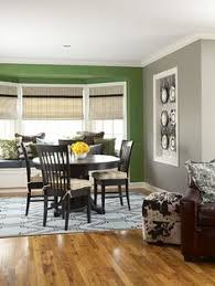 Green Accent Wall Living Room