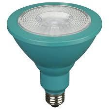 shop utilitech 85 w equivalent green par38 led decorative light